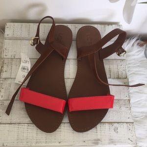 Loft sandals size 9